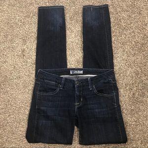 Hudson Jeans skinny dark wash jeans size 27